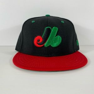 New Era 5950 Montreal Expos Cooperstown Fitted Hat